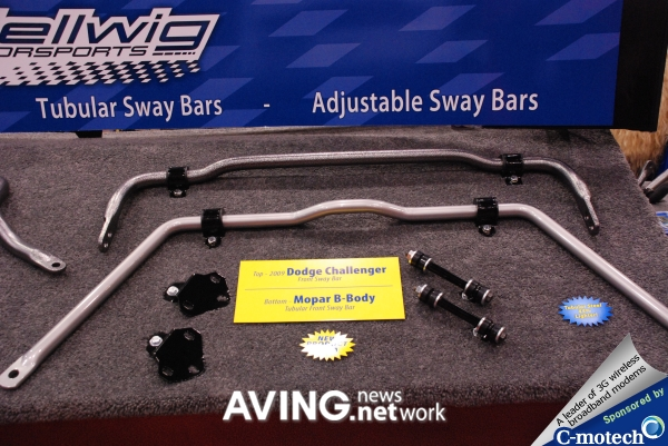Hellwig Products to display various Sway bars for trucks and