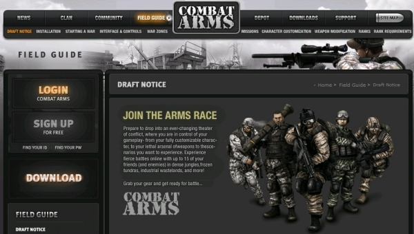 combat arms europe free to play online fps