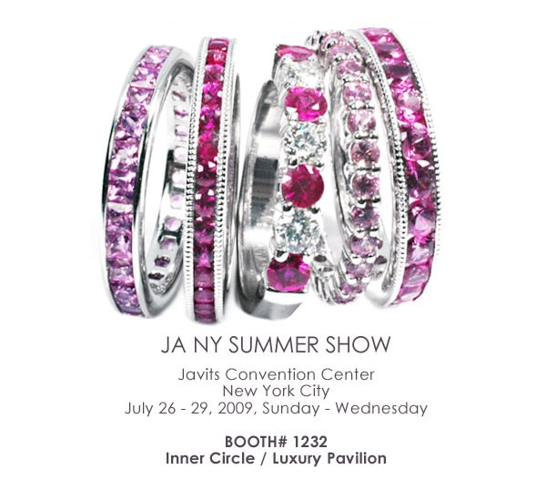 ... (www.ogi-ltd.com) announced to showcase its fashion jewelry at Inner Circle / Luxury Pavilion at JA NY Summer Show in New York from July 26 to 29, 2009.