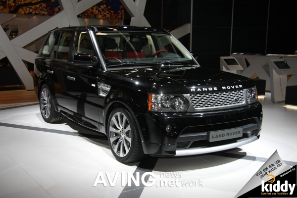 Land Rover to present its Range Rover Sport line-up for 2010 AVING
