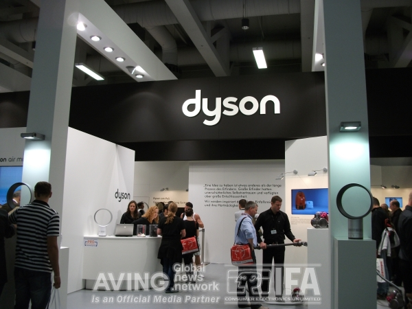 ifa2010 dyson to announce its new vacuum cleaner dc26 allergy parquet. Black Bedroom Furniture Sets. Home Design Ideas