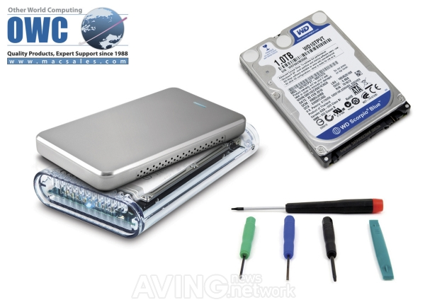 Owc announces low cost do it yourself diy 1 tb hard drive kits for the owc diy hard drive kit provides everything you need to increase space and performance for your macbook macbook pro mac mini storage or pc laptop and solutioingenieria Image collections