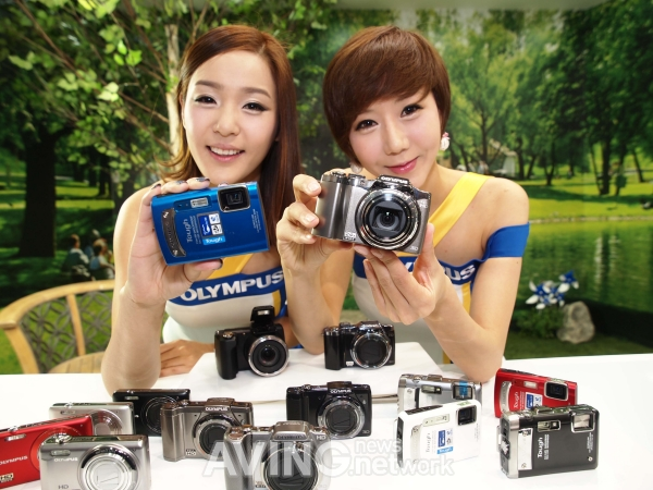 Olympus New Compact Cameras 2011