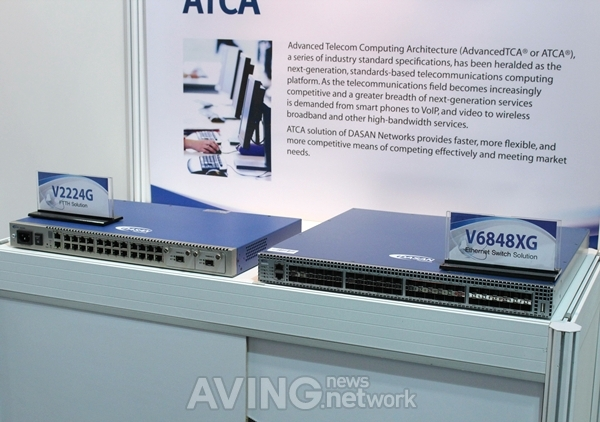 CommunicAsia] DASAN Networks Introduces The Latest Giga-Internet