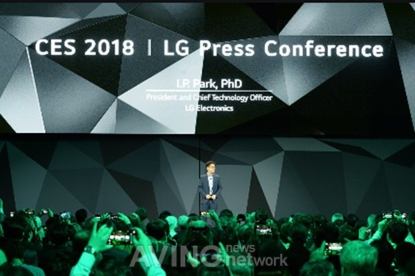LG Electronics President and CTO Dr  I P  Park to Keynote at